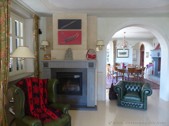 Accommodation in private villa Tuscany Italy