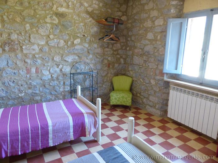 Talamone apartment accommodation.