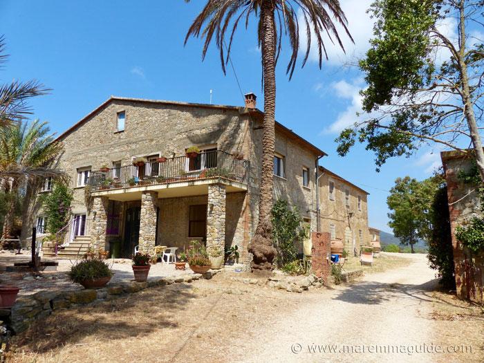 Parco della Maremma farmhouse accommodation.