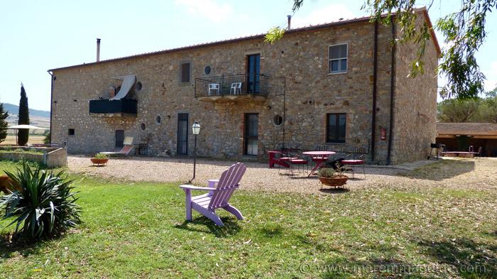 Parco Maremma agriturismo accommodation.