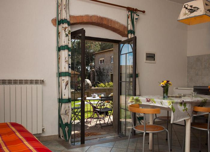 Agriturismo Talamone farmhouse apartment.
