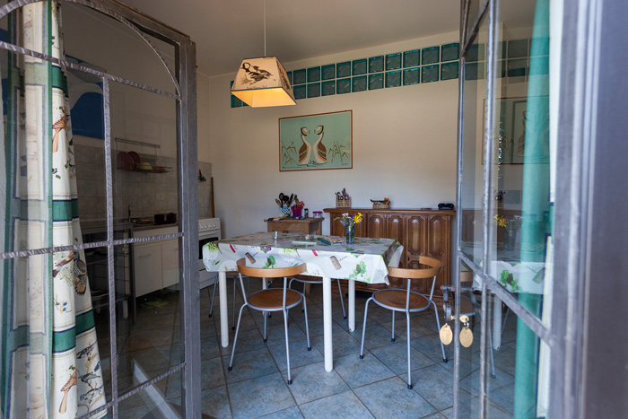 Talamone agriturismo apartment.
