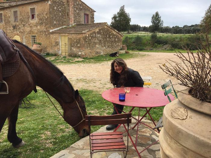 Animal friendly Tuscany farmhouse