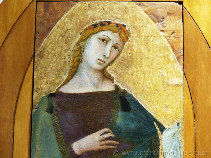 Ambrogio Lorenzetti Saint Cecilia.