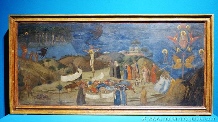 Ambrogio Lorenzetti Allegory of Redemption, 1338.