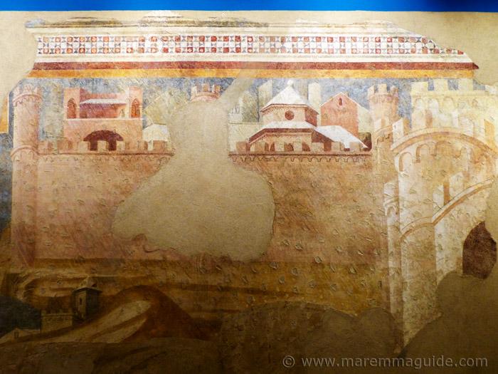 Ambrogio Lorenzetti exhibition.