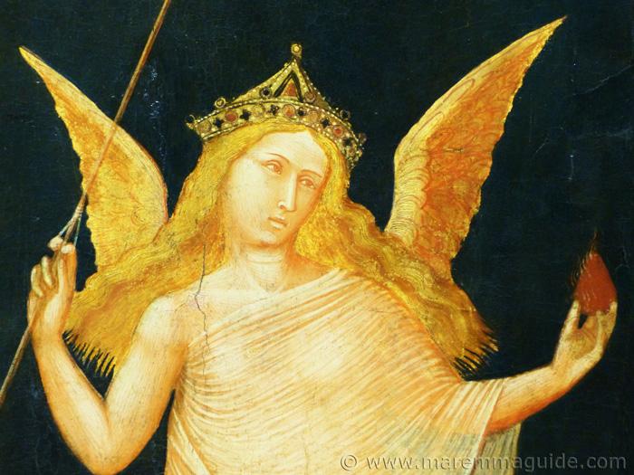 Ambrogio Lorenzett in Maremma Tuscany.