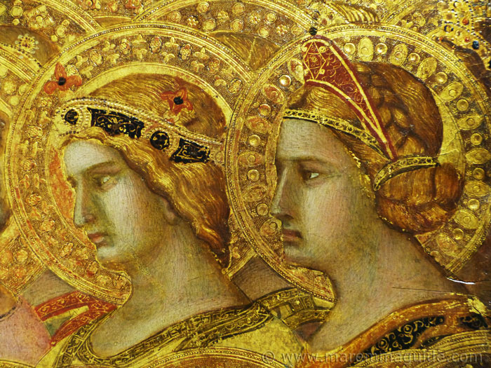 Ambrogio Lorenzetti Maesta, 1335 detail.