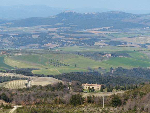 Val d'Orcia in Tuscany.