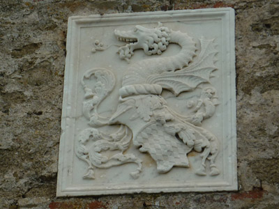 Appiani Piombino dragon coat of arms