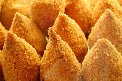 Picture of Italian food: Arancini
