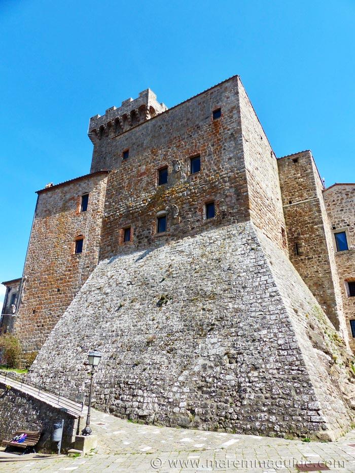 Arcidosso castle.