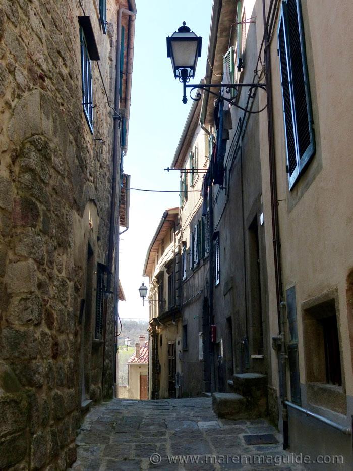 Arcidosso: Via S. Niccolo.