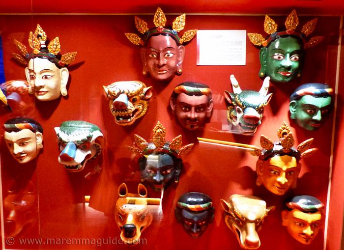 Tibetan masks.