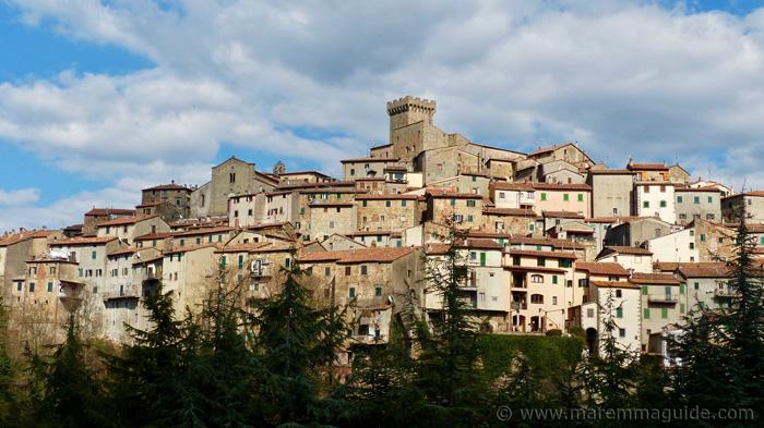 Arcidosso Tuscany.