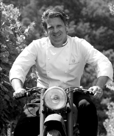 Tuscan chef Aurelio Barattini