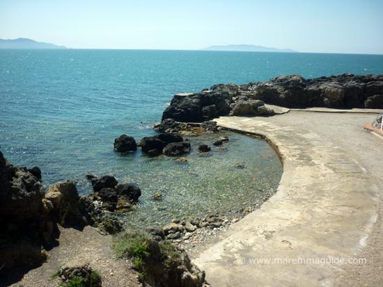 Bagno delle Donne Talamone beach Maremma Tuscany