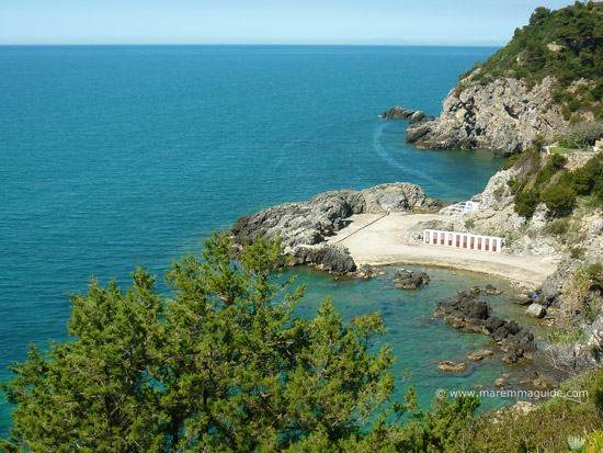 Bagno delle Donne Talamone beach Tuscany Maremma