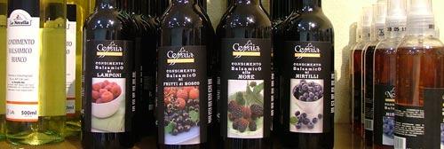 Balsamic sauce from the Italian food store La Novella Maremma Italy