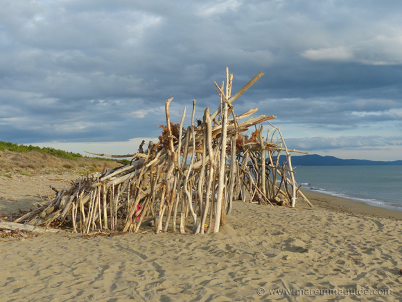 Beach house in Maremma Tuscany