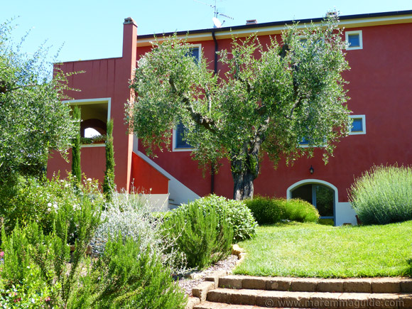 Bed and breakfast accommodation in Maremma Tuscany
