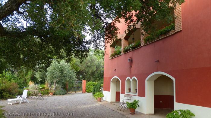 Best Maremma bed and breakfast in Tuscany.
