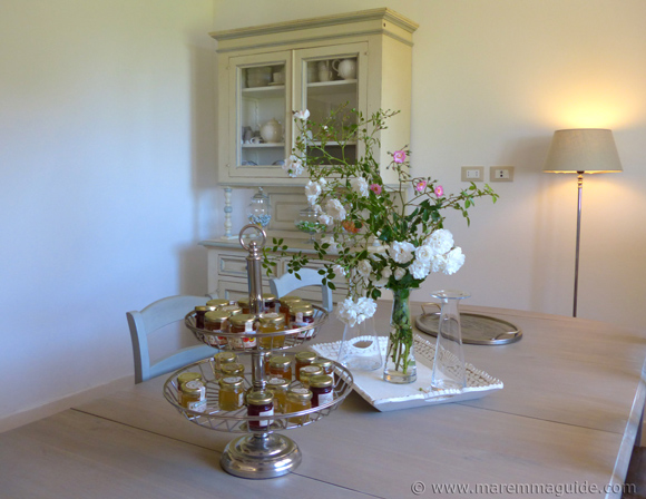 Romantic bed and breakfast in Tuscany Italy