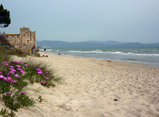 One of the best Maremma beaches: Torre Mozza