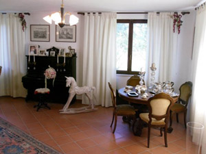 Borgognano Tuscany farmhouse holiday