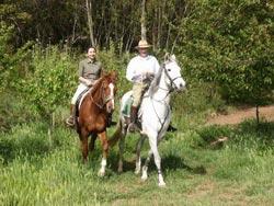 Tuscany horse riding in Maremma: Borgognano Farm House, Massa Marittima