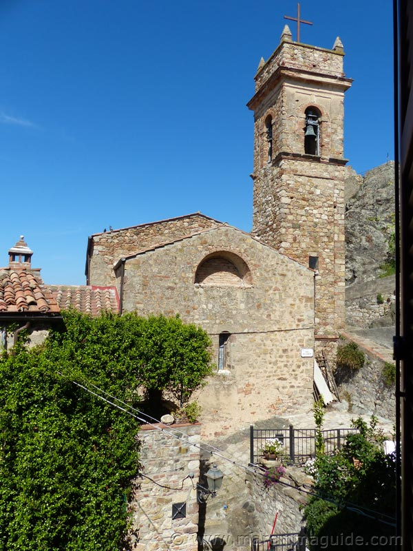 Church of Sant'Andrea Apostolo, Montemassi