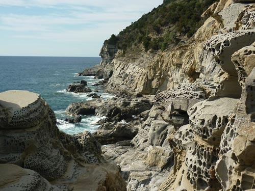Buca delle Fate beach, near Populonia and Baratti in Maremma Livornese Tuscany