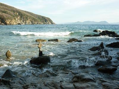 Buca della Fate spiaggia along the Maremma coastline between Piombino and Baratti