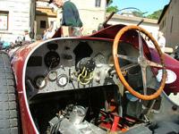 Bugatti car controls
