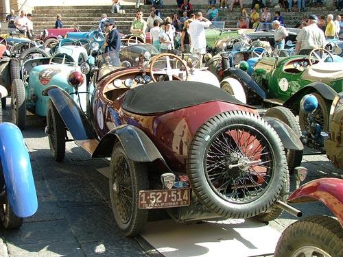Bugatti Cars in Maremma, Tuscany Italy