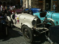 White Bugatti carc