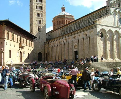 Bugatti Cars in Massa Marittima, Maremma Italy