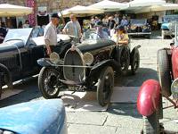 Bugatti cars in Massa Marittima Tuscany
