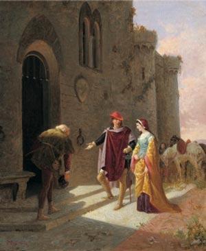 Pia de' Tolomei by Vincenzo Cabianca
