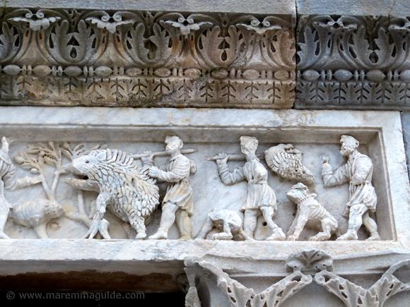 Caccia di Meleagro Pieve di San Giovanni Campiglia Marittima