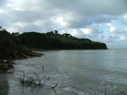 Cala Barbiere beach Punta Ala Maremma Tuscany Italy