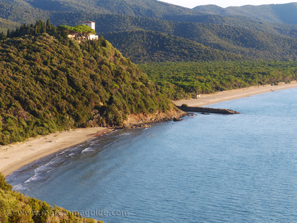Cala Civette beach Maremma