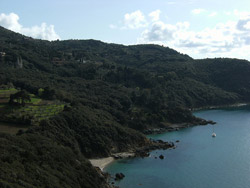 Cala Grande beach Monte Argentario Maremma Italy