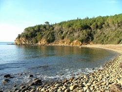 Cala Martina beach, Scarlino, Maremma Italy