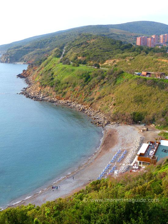 Cala Moresca Piombino beach