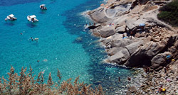Cala Smeraldo, Isola del Giglio, Maremma Italy