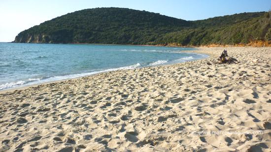 Cala Violina beach Maremma Tuscany