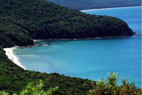 Cala Violina and Cala Civette Maremma beaches Italy