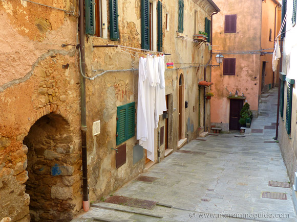 Campiglia Marittima on washing day