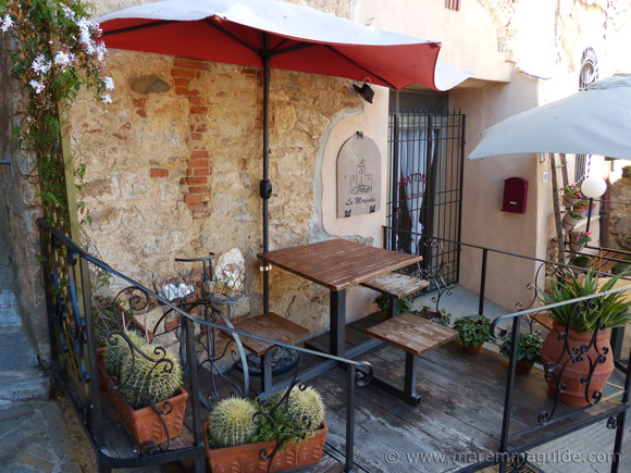 Campiglia Marittima restaurant.